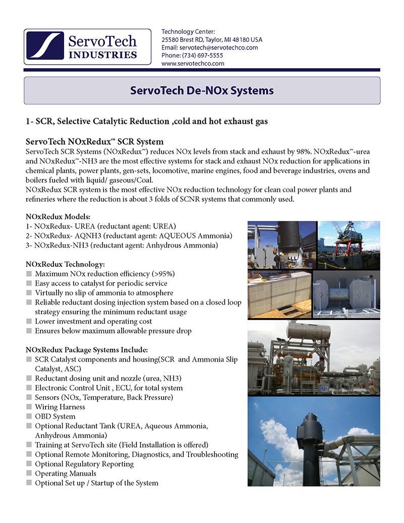 Servotech Wiring Harness Service Loops De Nox Systems