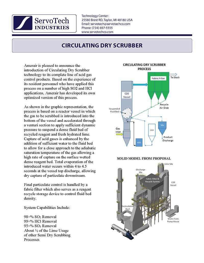 Circulating Dry Scrubber